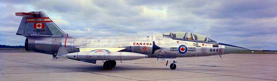 Starfighter #104644, CFB Cold Lake, early 1980s